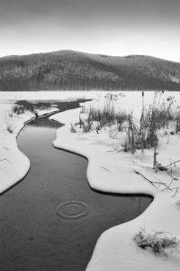 Lac Hertel, réserve Gault, mont Saint-Hilaire, Québec, Canada